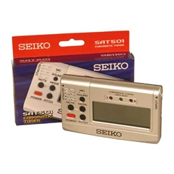 Chromatic Tuner, Sound Reference, Seiko 47-SAT501S