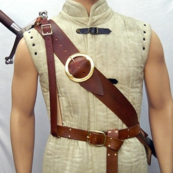 Great Sword Leather Back Sling