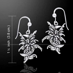 Stargazer Fairy Silver Earrings 52-TE2082