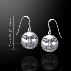 Magick Moon Silver Earrings 52-WE129