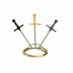 Three Letter Opener Display Stand by Marto