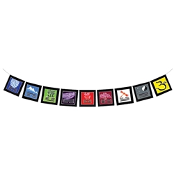 Feng Shui Flags 63-0011