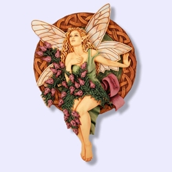 Heather Tree Fairy Wall Plaque