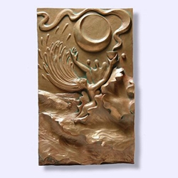 Water Wall Collage Plaque 64-ZW