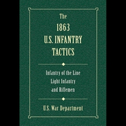 The 1863 US Infantry Tactics 71-00214