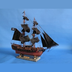 "Caribbean Pirate Ship 26"" - Black Sails 143-A2203B"