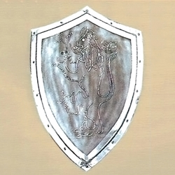 Decorative Lion Shield AH-3888
