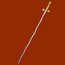Masonic Club Sword (Wavy Blade) AH-4219
