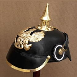 PickelHaube 1889 PreuBen Kuras-Leather AH-6035-L