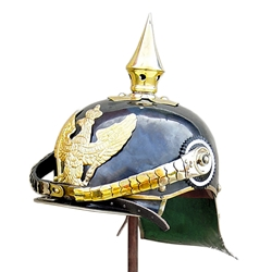 PickelHaube Helmet With Brass Rim AH-6039