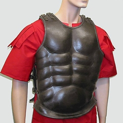 Roman Leather Muscle Armour AH-6071-L
