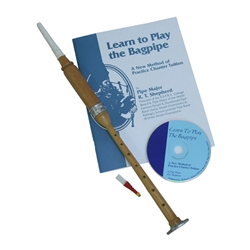 Cocus Practice Chanter, Book and CD BAGM-BC