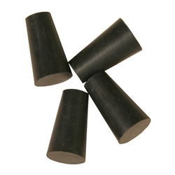 Rubber Stoppers Number 00, Set of 4 BGST-00