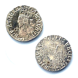 Charles I Coin Silver Penny 1625 BI-130