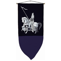 The Jousting Knight Banner BP-07