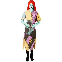 The Nightmare Before Christmas Sally Adult Costume 100-111971