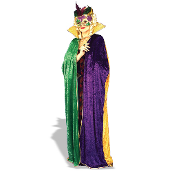 Mardi Gras Cape Adult 100-113968