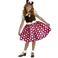 Disney Minnie Mouse Toddler / Child Costume 100-116466