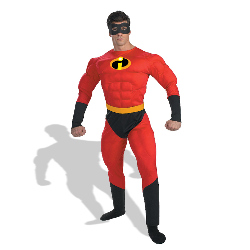 Disney Mr. Incredible Muscle Adult Costume 100-124909