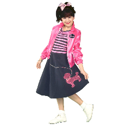 Nifty Fifties Child Costume 100-125232