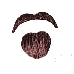 Moustache and Goatee (Literate) 100-125442