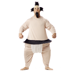 Sumo Wrestler  Adult Costume 100-125387