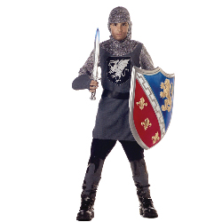 Valiant Knight Child Costume 100-125067