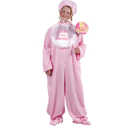 Be My Baby Jammies (Pink) Adult Plus Costume 100-126292