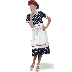 I Love Lucy Classic Adult Costume 100-126462