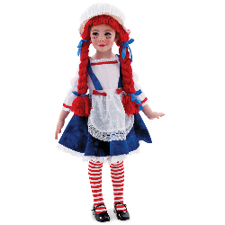 Yarn Babies Rag Doll Girl Toddler / Child Costume 100-126168