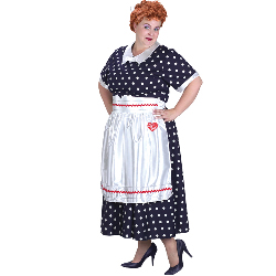 I Love Lucy Classic Adult Plus Costume 100-126466