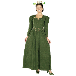 Shrek  Princess Fiona Deluxe Adult Costume 100-126905