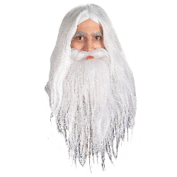 Gandalf Wig & Beard - Lord of the Rings 100-126922