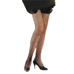 Black Fishnet Tights Plus 100-126999