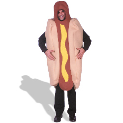 Hot Dog  Deluxe Adult Costume 100-127607