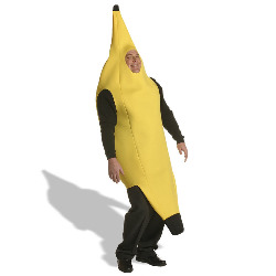 Banana Adult Plus Costume 100-127637