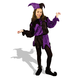 Jester  Child Costume 100-127396
