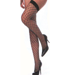Thigh High Fence Net Stockings Adult 100-130454