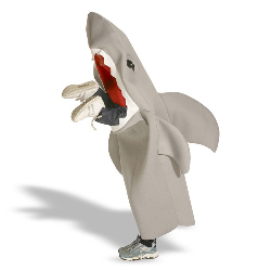 Lil' Man Eating Shark  Child Costume 100-129797
