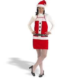 Holiday Apron & Hat Set Costume 100-130486