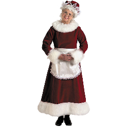 Mrs. Claus Dress Adult Plus Costume 100-131724