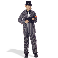 Gangster Suit Child Costume 100-133038