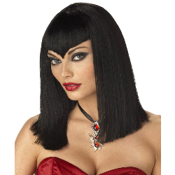 Vamp Wig Black Adult 100-133309