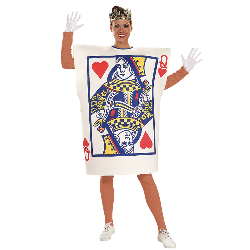 Queen of Hearts Card  Adult Costume 100-134857