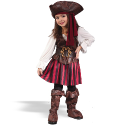 High Seas Buccaneer Girl Toddler Costume 100-133252