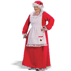 Mrs. Claus Adult Plus Costume 100-133352
