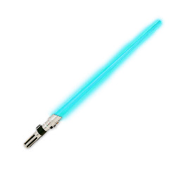 Star Wars Anakin/Luke Skywalker (Blue) Lightsaber 100-132198