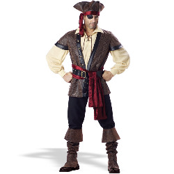 Rustic Pirate - Elite Adult Collection Costume 100-133962