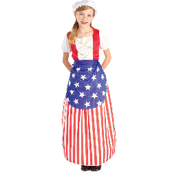 Betsy Ross Heroes In History Child Costume 100-134082