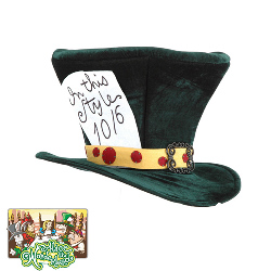Alice In Wonderland - Classic Mad Hatter Hat 100-134371